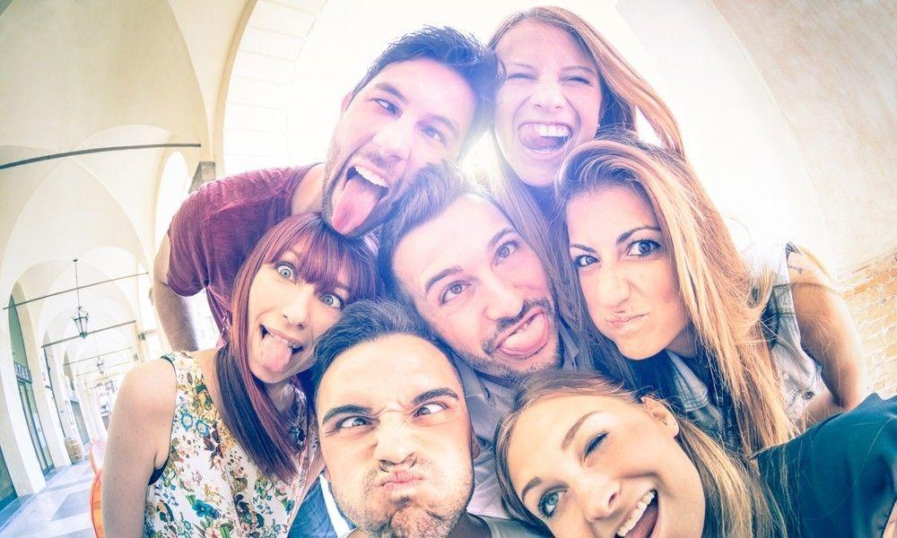 360 Selfies by visitors of the region