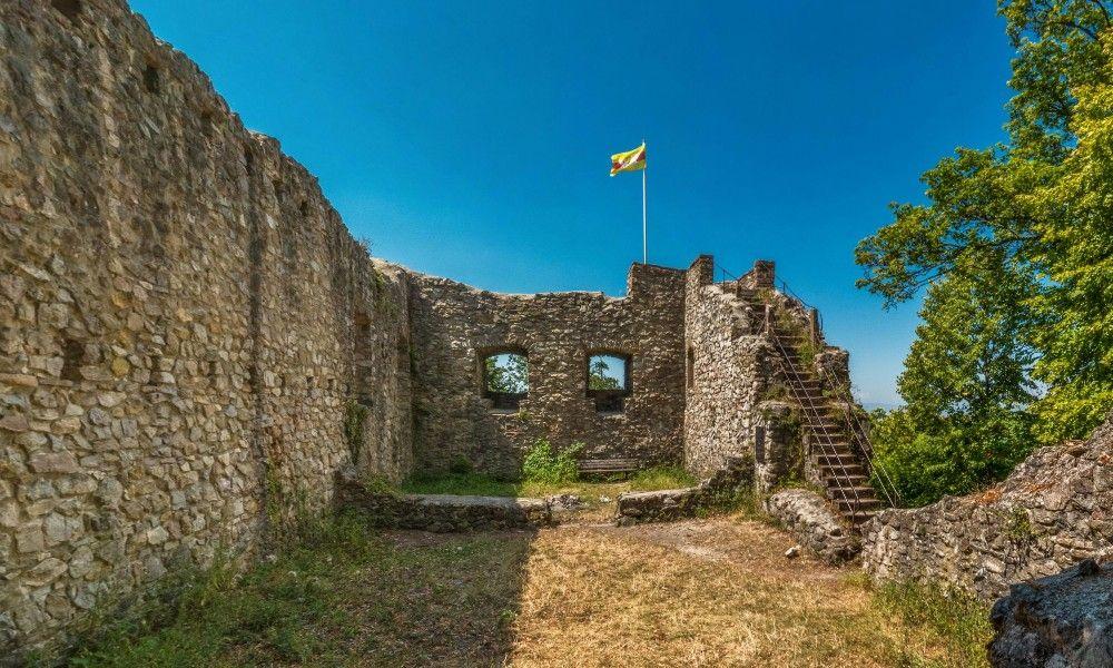 Castle ruins Neuenfels, Müllheim