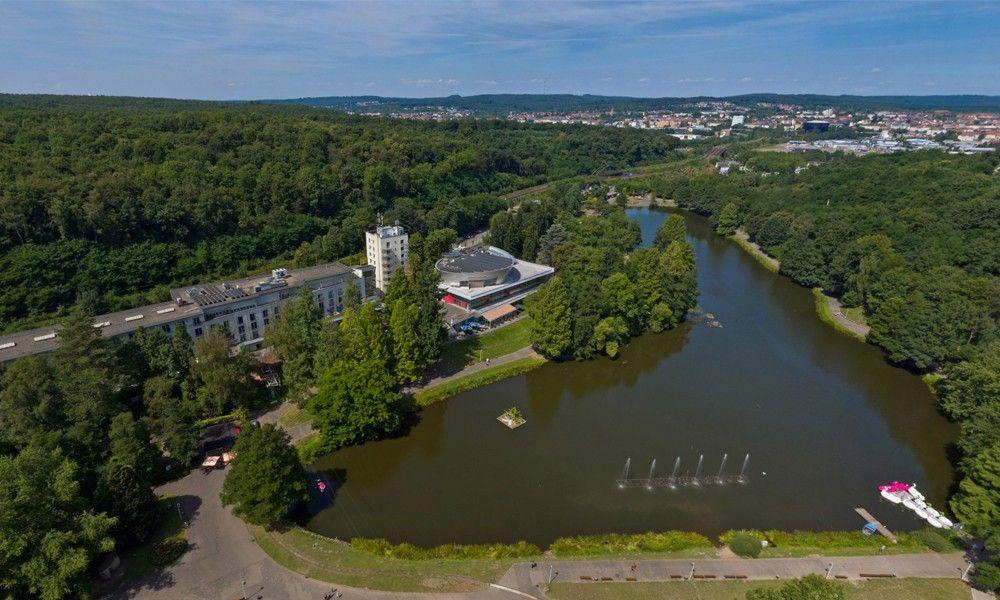 360 Aerial, French Garden - Casino