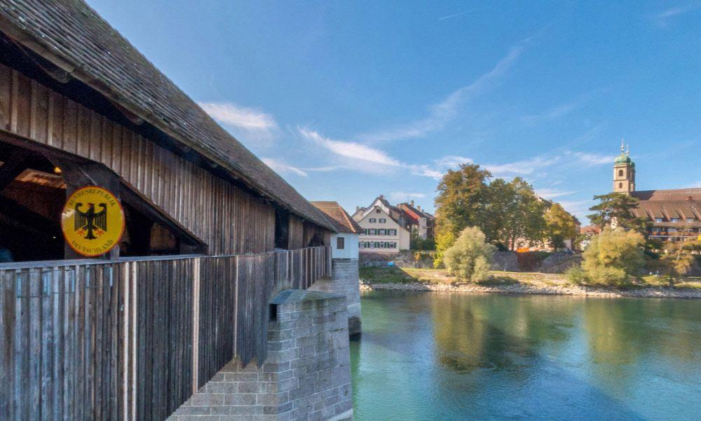 Historical Wooden Bridge, Bad Säckingen