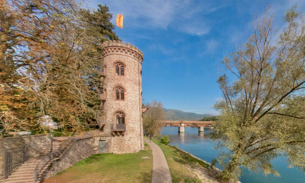 Thiefs Tower, city wall Bad Säckingen