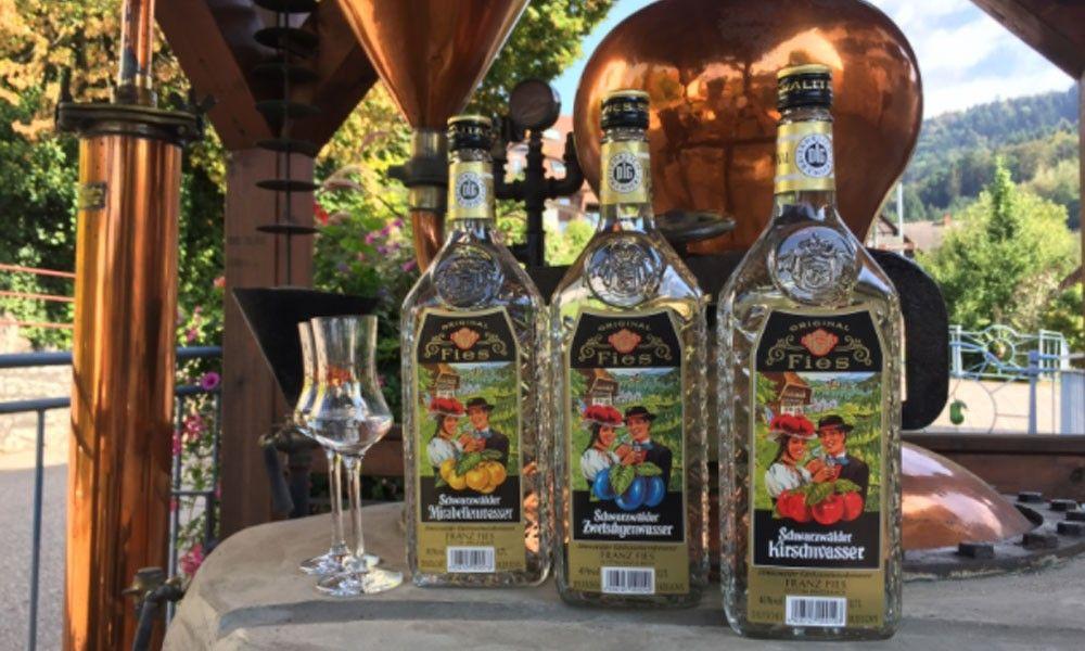 Kirschwasser and noble brandies from Fries - www.fiesbrennerei.de